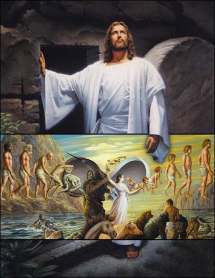 Две грандиозни картини, събрани в едно.