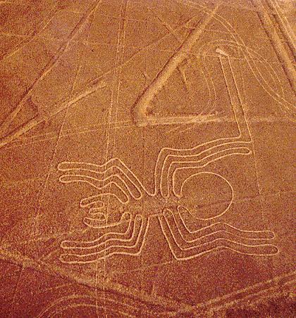 Геоглифи от Наска, Перу.