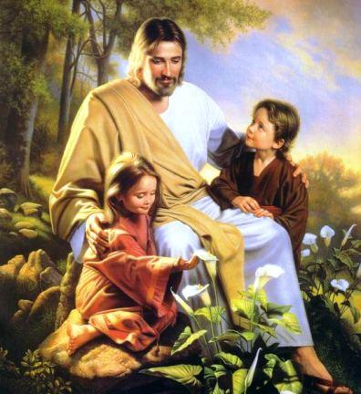 Исус и малките