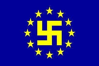 Пълнежът на сегашното европейско знаме