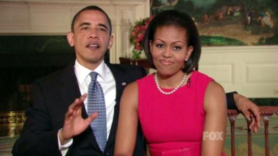 Мишел Обама и Телепромптърният президент
