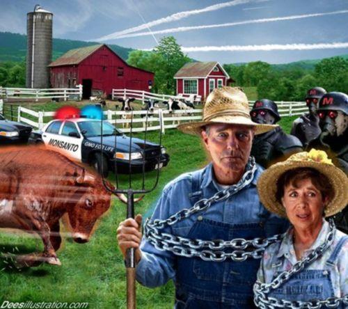 Монсанто и фермерите