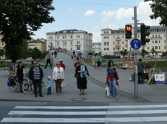 Ежедневие в Залцбург