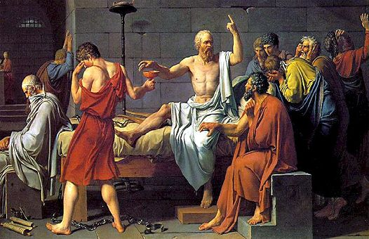 Сократ, отровата и убийците му.