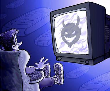 Телевизията: Подчинявай се на властта! Плащай!