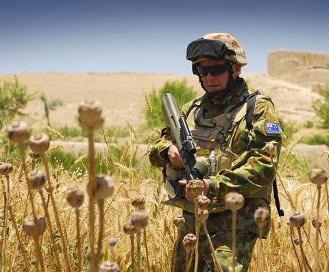 Опиумни полета в Афганистан.