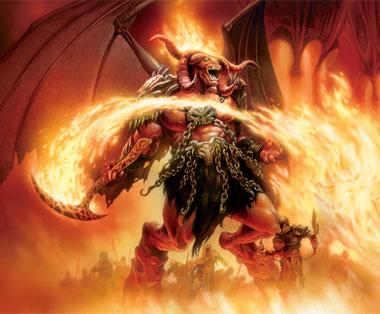 Огнен демон