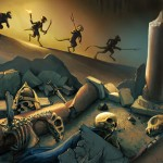 Скакалците от Откровение: асурите на Сорат