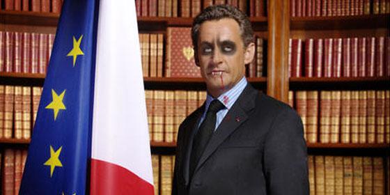 Кръвопиецът Никола Саркози