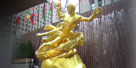 Прометей и рокфелеровото масонство