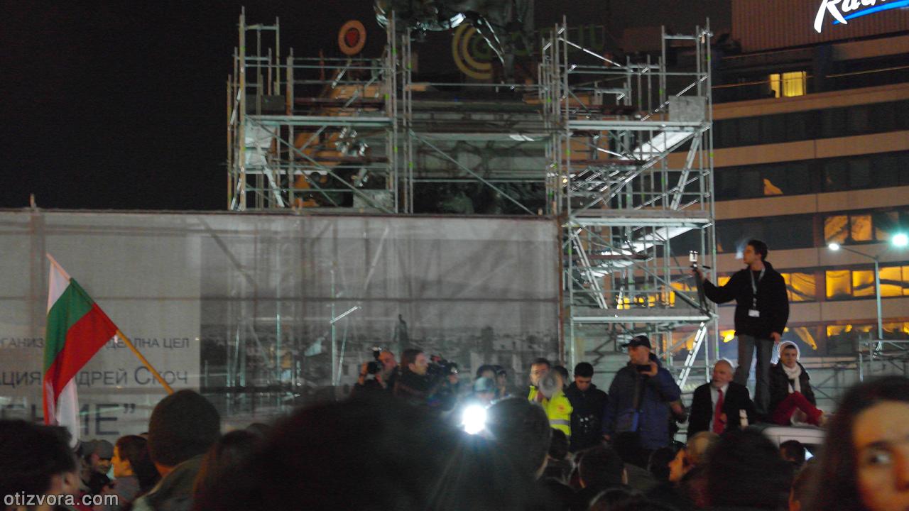 Фоторепортаж от втория протест срещу застрояването на Черноморието