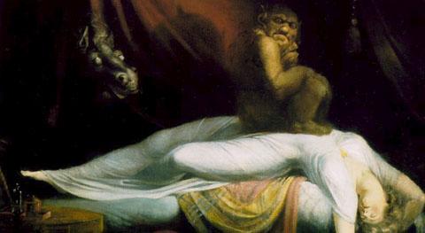 """Хенри Фюсли – """"Кошмарът"""" (1780-1781)"""