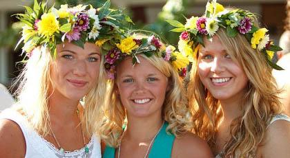 Шведски момичета
