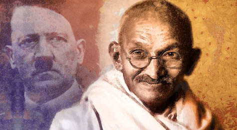 Писмо на Махатма Ганди до Адолф Хитлер