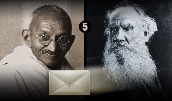 Мирната съпротива: Последното писмо на Толстой до Ганди