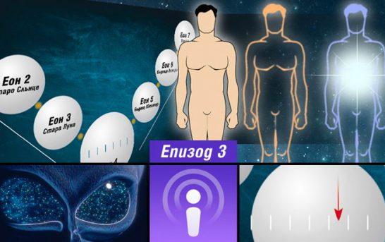 Духовната наука — 3: Човекът в първите еони на еволюцията си