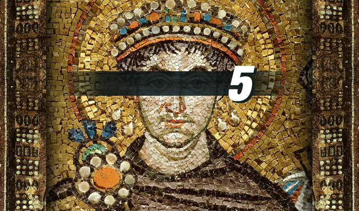 """""""Покушението над Юстиниан"""" — 5: Критиката на житието от Джеймс Брайс"""