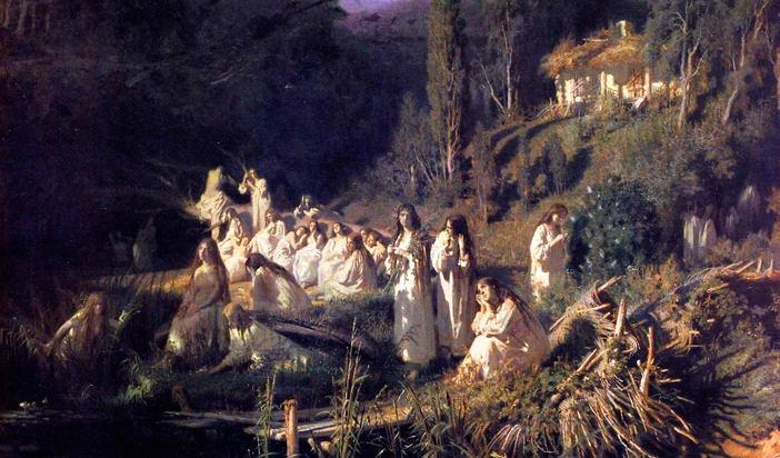 Тракийско наследство в българския фолклор (2): Обредно къпане