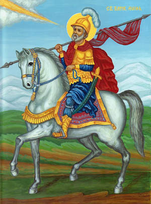 """Свети Мина също е изобразяван като конник, както св. Георги и тракийския """"херос""""."""
