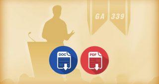 Цяла книга: Троичният социален ред и ораторското изкуство (GA-339)