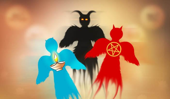 Тъмните духове — 02: Произходът на Луцифер и Ариман