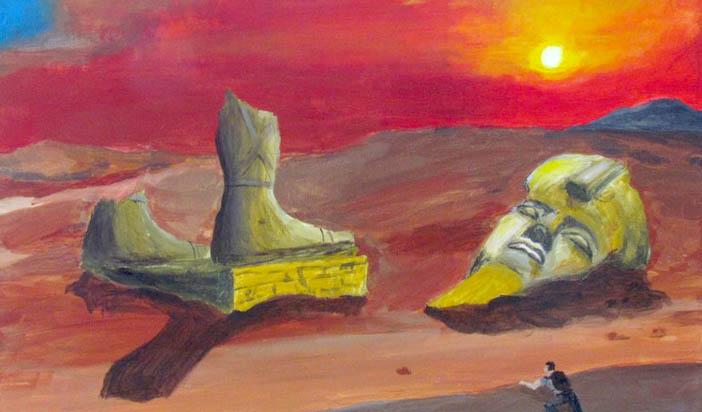 """Класиката """"Озимандий"""" и съвременният апокалиптичен дух"""