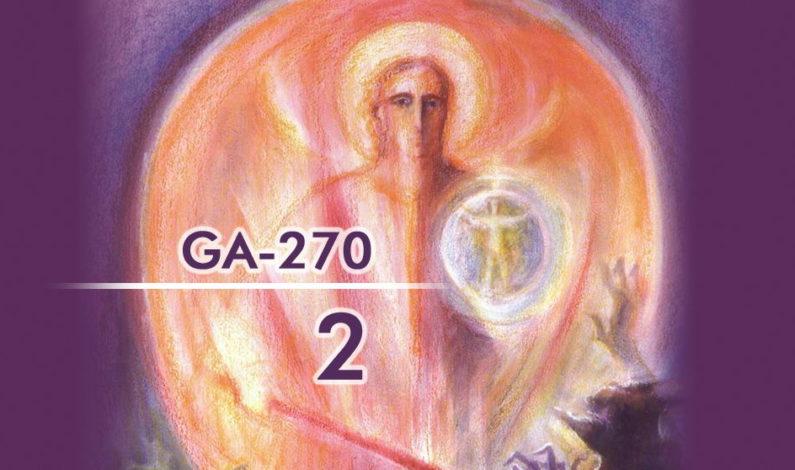 Извадки от втори езотеричен урок (GA-270): Духовни истини и Ариманови лъжи