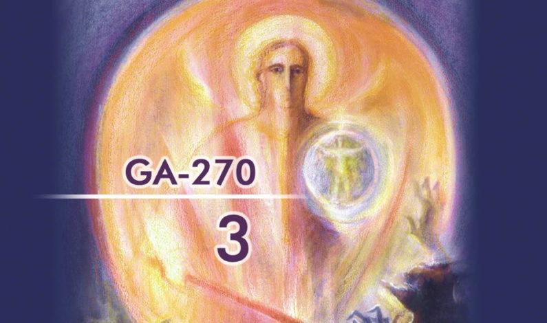 Извадки от трети езотеричен урок (GA-270): Човек се разчленява на Прага